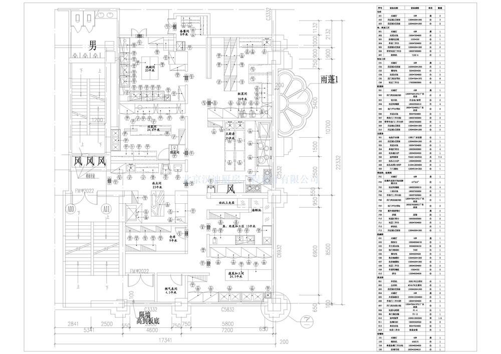 火锅店厨房设计图